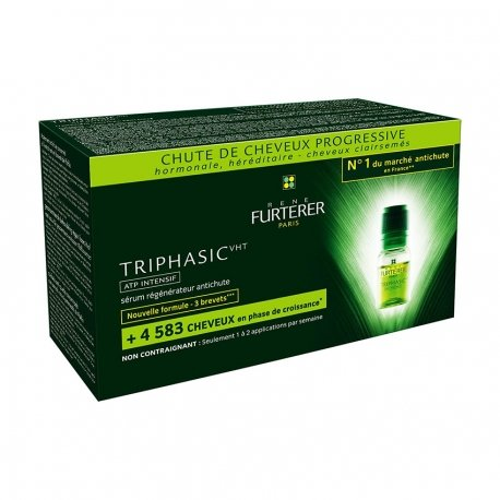 Furterer Triphasic ampoules 8x5,5ml