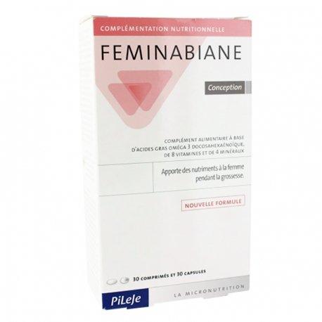 Pileje Feminabiane Conception comprimés 30 + capsules 30