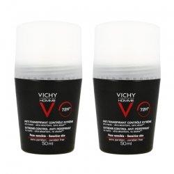 Vichy Vichy Homme Deo Anti-Transpirant 72h Bille Duo 2x50ml