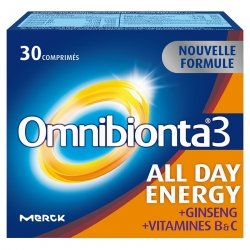 Omnibionta 3 All Day Energy 30 comp Nouvelle Formule