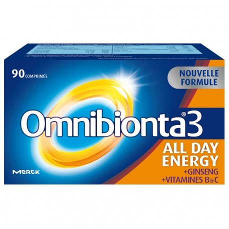 Omnibionta 3 All Day Energy 90 Comp Nouvelle Formule