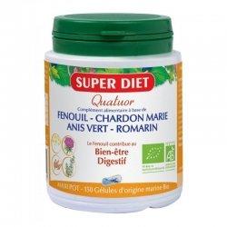 Super Diet Bio Quatuor Bien-être Digestif 150 gélules