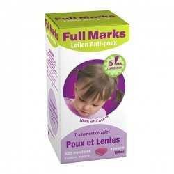 Full Marks Spray Anti-Poux 150ml + Peigne