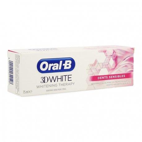 Oral-B Dentifrice 3D White Sensitive 75ml