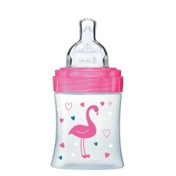Dodie Biberon Sensation+ Rose Flamant 0-6m 150ml