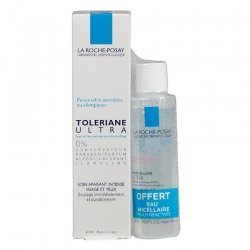 La Roche Posay Toleriane Ultra Fluide Apaisant Intense Visage & Yeux 40ml + Eau micellaire Ultra 50ml OFFERTE