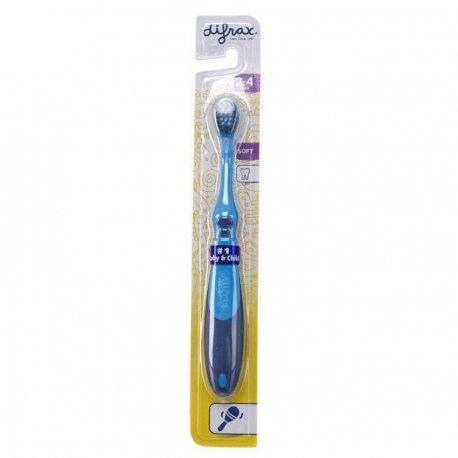 Difrax Brosse à Dents Soft 2-4 ans
