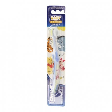 Oral B Brosse à Dents Baby Winnie 0-2ans Extra Soft