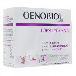 Oenobiol Topslim 3 en 1 Goût Framboise 14 sticks
