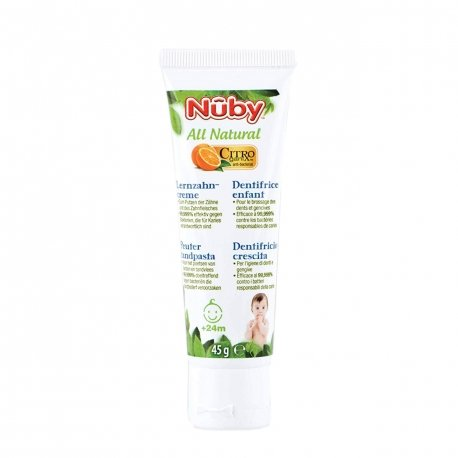 Nûby All Natural Dentifrice Enfant +24 mois 45g