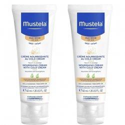 Mustela Duopack Bébé Crème Cold Cream Peau Sèche 40mlx2
