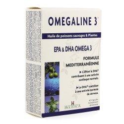 Bioholistic omégaline 3 (omégacoeur) comp 60