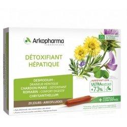 Arkofluide Détoxifiant Hépatique 20 ampoules