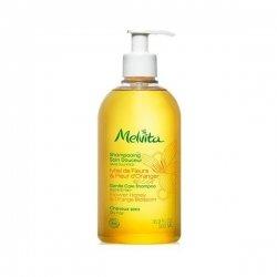 Melvita Shampooing Soin Douceur Miel de Fleurs et Fleur d'Oranger Cheveux Secs 500 ml