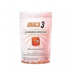 Anaca 3 Bonbon Minceur Cola Fraise Citron 30 pièces