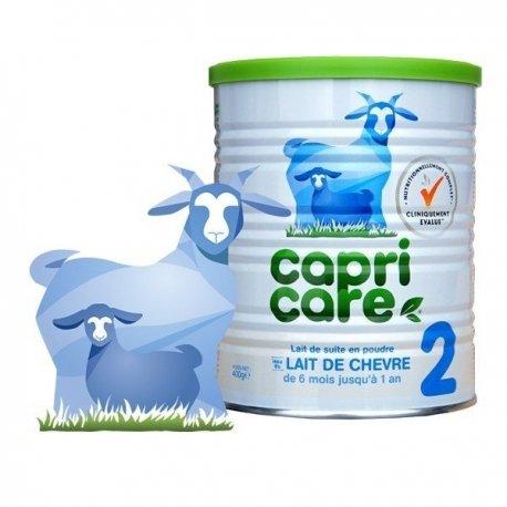 Capricare 2 Lait de Chèvre pour Nourrissons De 6 Mois jusqu'à 1 An 800 g