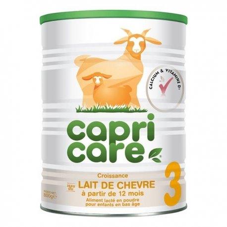 Capricare 3 Lait de Chèvre Croissance Dès 12 Mois 800g