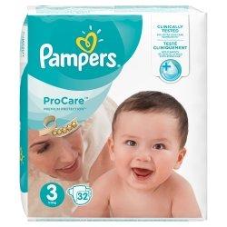 Pampers Procare Premium Protection T3 5-9kg 32 unités