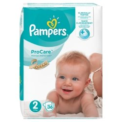 Pampers Procare Premium Protection T2 3-6kg 36 unités