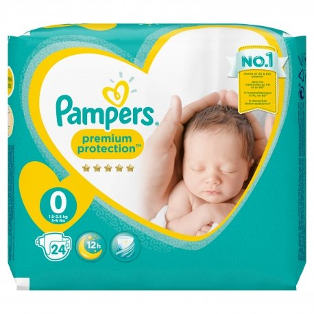 Pampers New baby micro couches dry premature 24