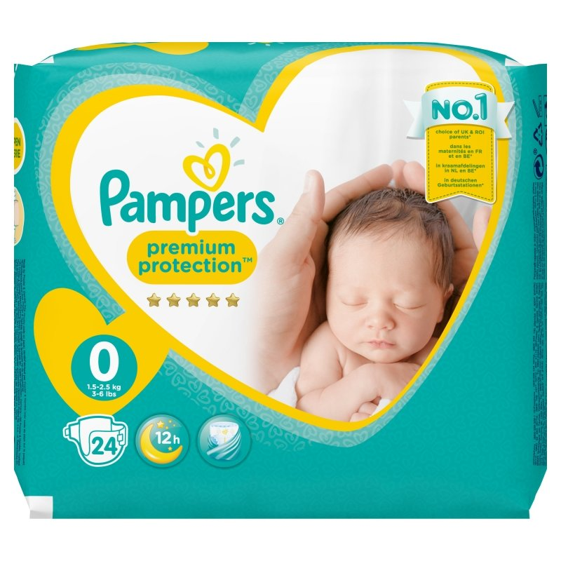 Pampers New Baby Micro Couches Prématuré 24 Couches