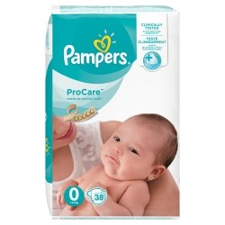Pampers Procare Premium Protection T0 1-2,5kg 38 unités