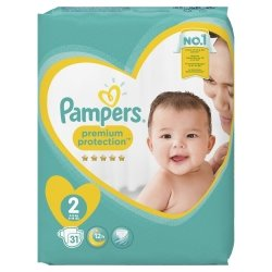 Pampers New Baby T2 4-8kg 31 unités