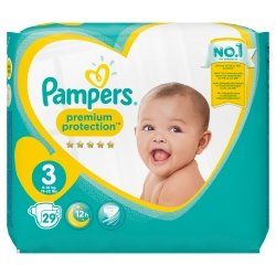 Pampers New Baby T3 6-10kg 29 unités