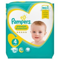 Pampers New Baby T4 9-14kg 24 unités