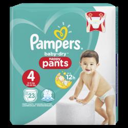 Pampers Baby Dry Pants T4 9-15kg 23 unités