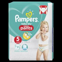 Pampers Baby Dry Pants T5 12-17kg 21 unités