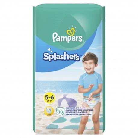 Pampers Splashers T5-6 14kg+ Couche-Culotte de Bain 10 unités