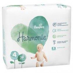 Pampers Harmonie T4 9-14kg Géant 28 unités