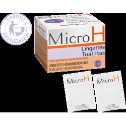 Micro H Lingettes Hemorroïdaires x20