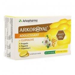 Arkopharma ArkoRoyal Pastilles Adoucissantes miel-citron 24 pastilles