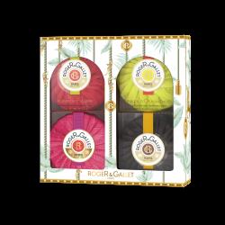 Roger & Gallet Coffret 4 savons parfumés 4x100g
