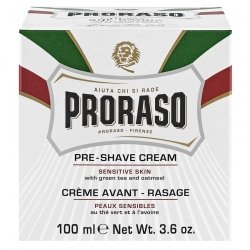 Proraso Crème Avant-Rasage Peau Sensible 100ml