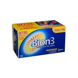 Bion 3 Juniors Activateur de Santé Offre Spéciale 3 Mois 90 comprimés
