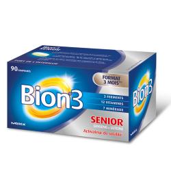 Bion 3 Senior Activateur de Vitalité Format 3 Mois 90 comprimés