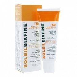 Soleil Biafine Lait Spray Solaire SPF 50+ 200ml