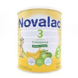 Novalac 3 Croissance Banane-Pomme 1-3 ans 800g