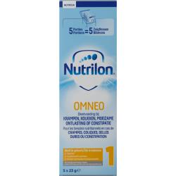 Nutricia Nutrilon Omneo 1 lait nourris. pdr trialpack 5x23g (2791267)