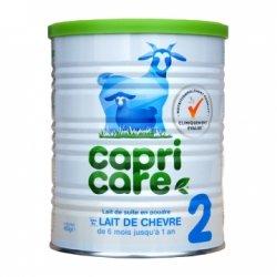 Capricare 2 Lait de Chèvre pour Nourrissons De 6 Mois jusqu'à 1 An 400 g