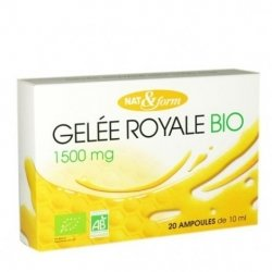 Nat&Form Bio Gelée Royale 1500mg 20amp x10ml