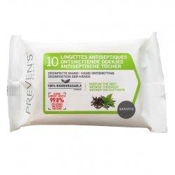 Preven's lingettes a/septiques pocket 1x10