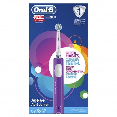 Oral B Brosse à Dents Vitality Junior 6+ purple