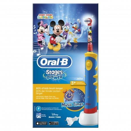 Oral-b Plak control d 10511 blue mickey