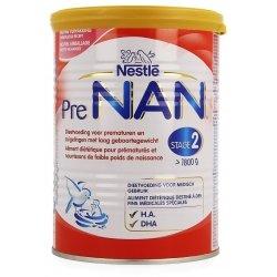 NAN PreNAN Stage 2 Lait pour Nourissons Prématurés 400g