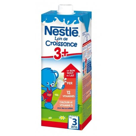 Nestlé Lait de croissance 3+ 1l