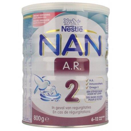 NAN AR 2 Lait de Suite 800g